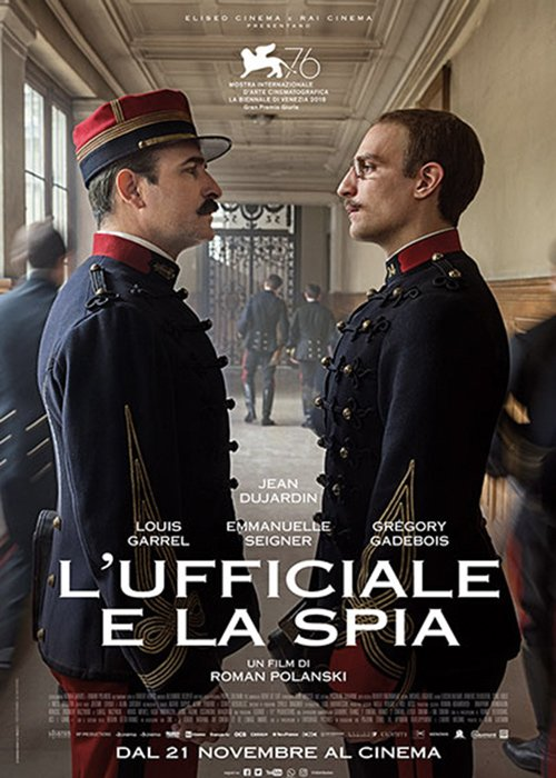eliseo entertainment lufficiale e la spia Roman Polanski 2019
